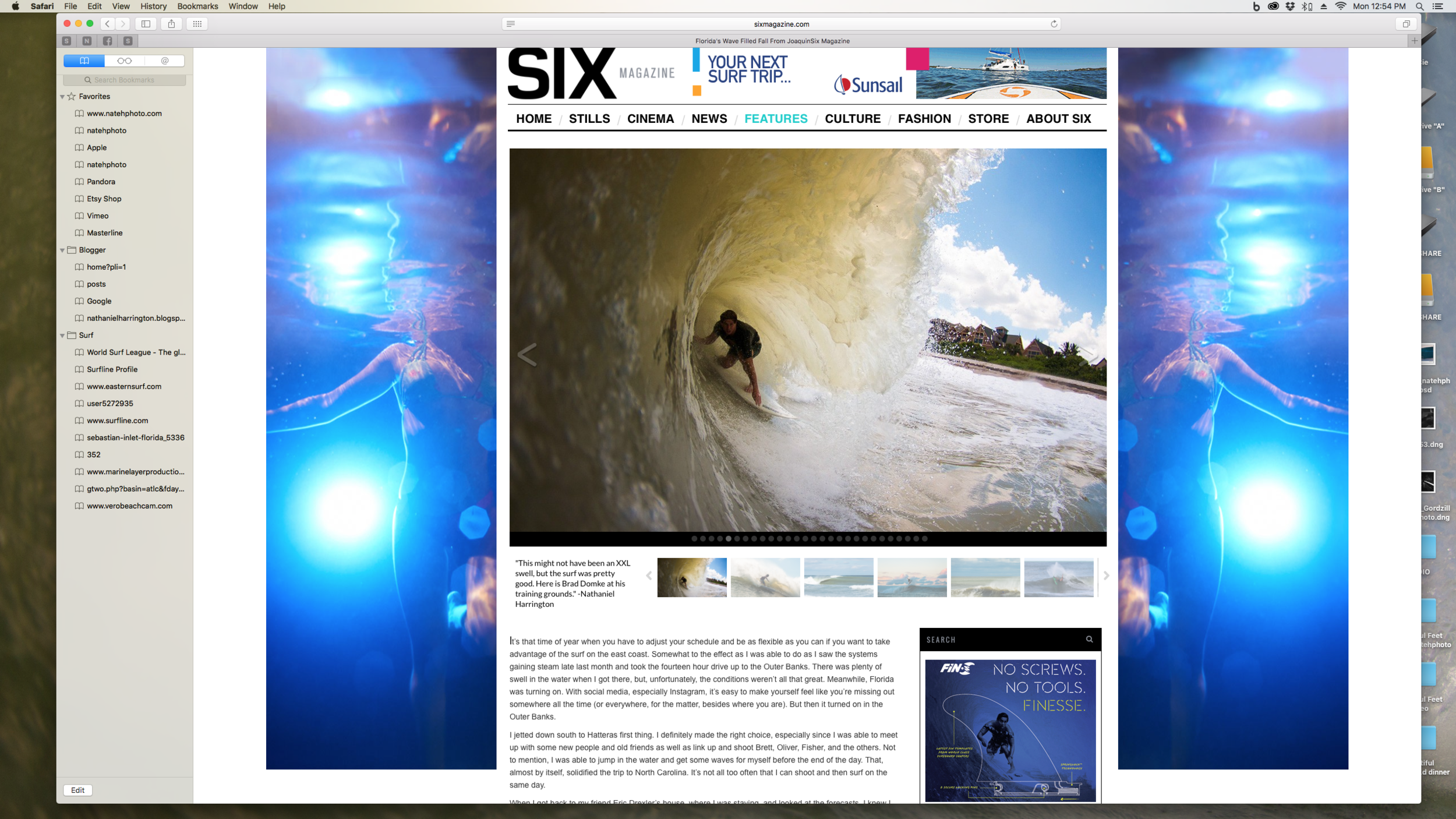 Brad Domke featured on SixMagazine.com