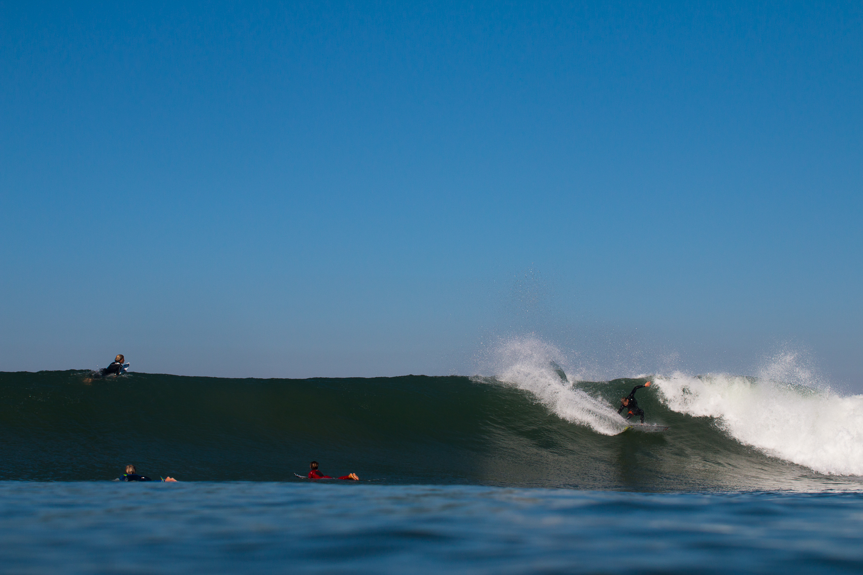 The groms watching Kolohe rip into a wave, dreams are born here.