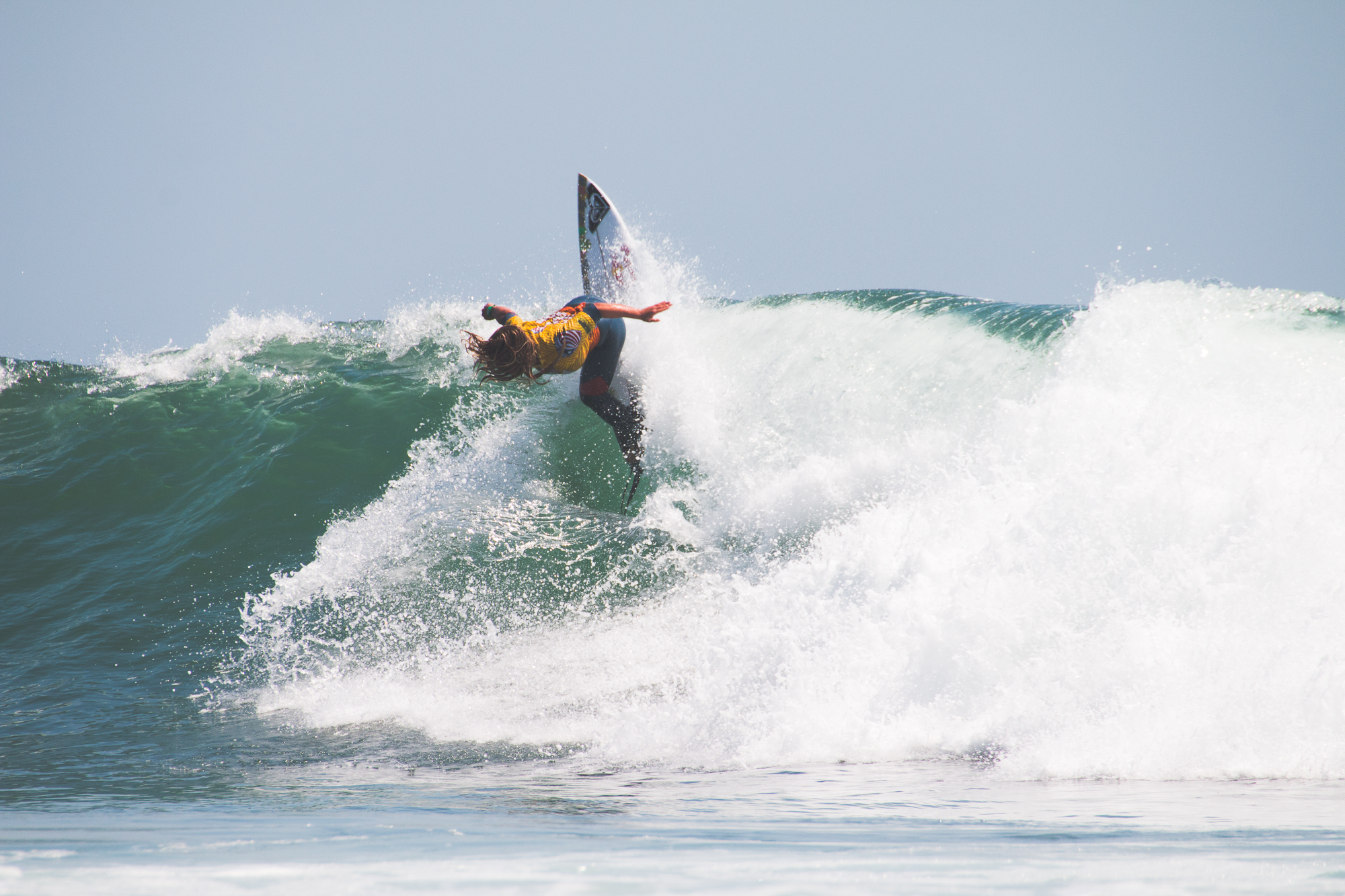 Caroline Marks took home two more titles at this years USA Surfing Championships. She is now at 17 total world titles.