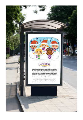 Outdoor is an important component of the campaign. Ads ran on TSAs, billboards, Skytrain posters and interior transit cards.