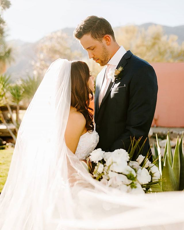 When your real life bride and groom look like models...! 💕💕 . 📸 @briannabroyles . . . #wedding #weddings #bride #bridetobe #groom #ido #instawedding #weddingday #weddinginspiration #palmsprings #weddingplanning #bohowedding #soloverly #ohwowyes #msweddings #theknot #justengaged #proposal #shesaidyes #love #thatsdarling #petitejoys #thehappynow #palmspringswedding #carlsbad #temecula #temeculaweddings #sandiego #sandiegowedding #ocwedding