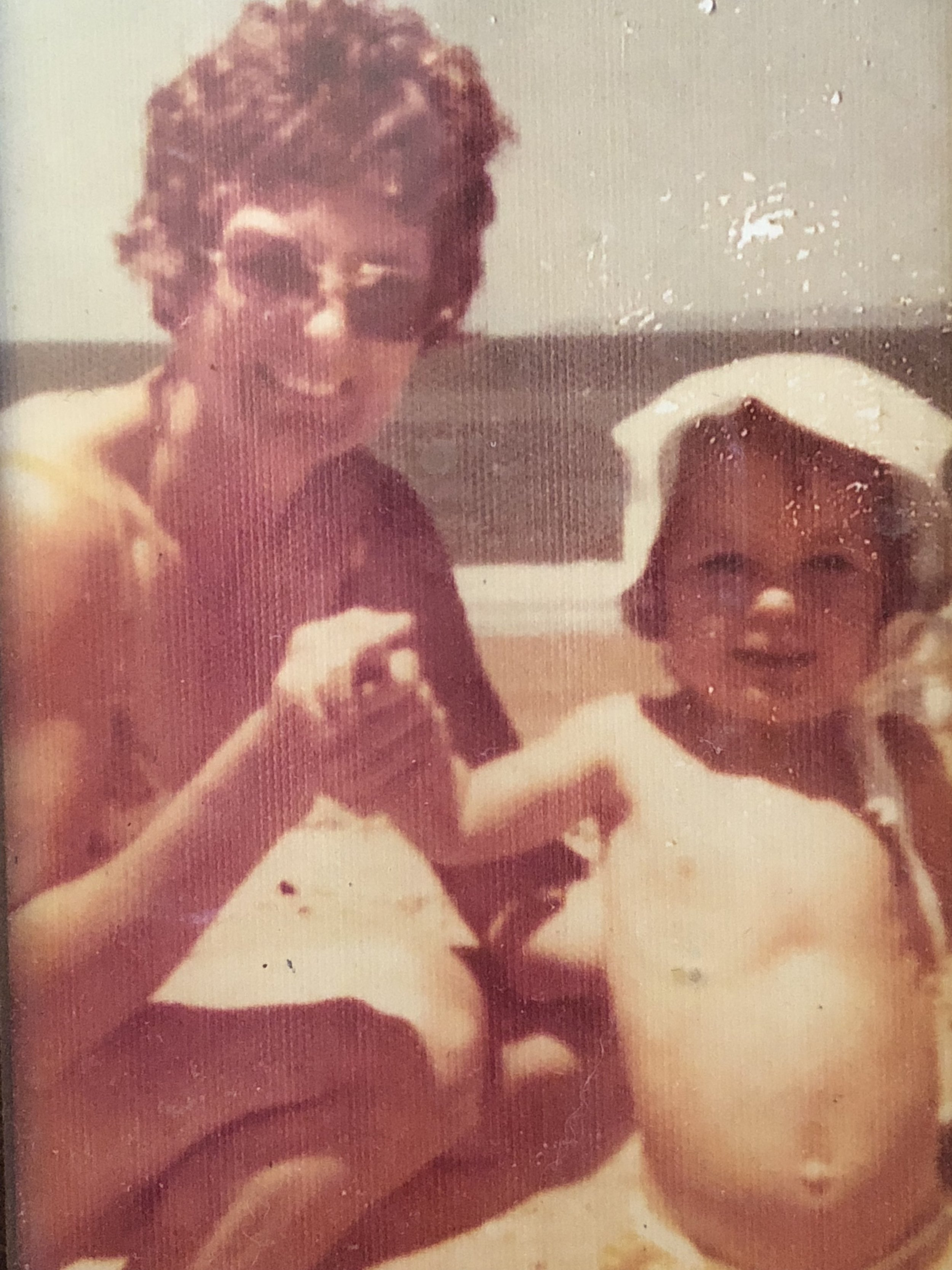 Nell and I in the early 70's.