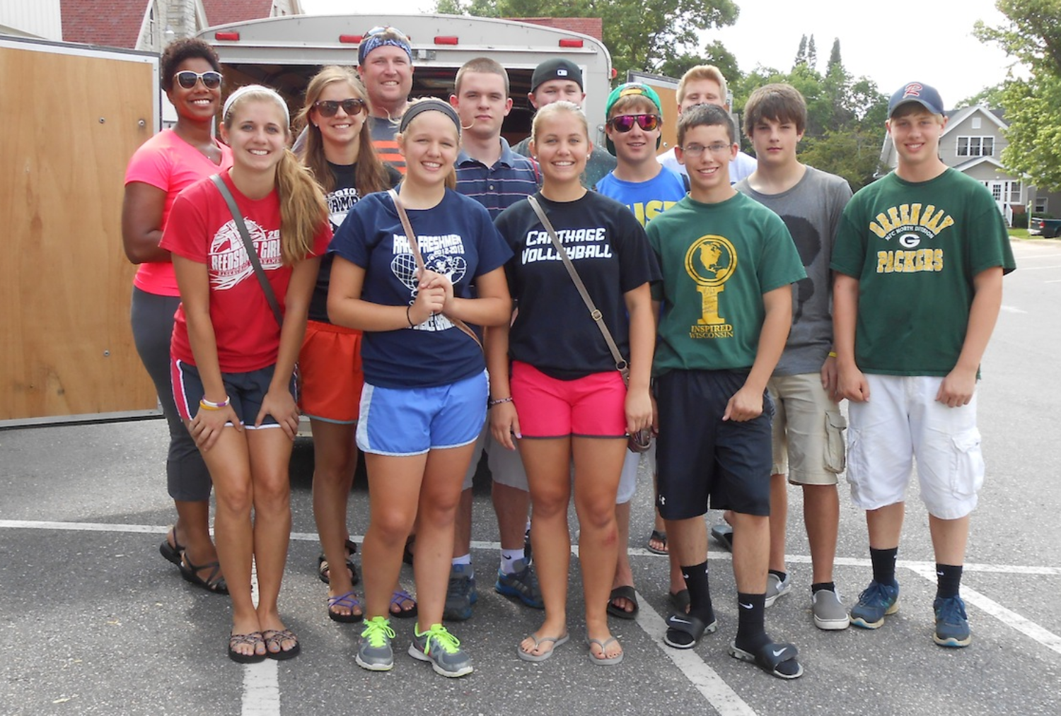 Senior High Summer Trip 2013 - Service and SonShine!