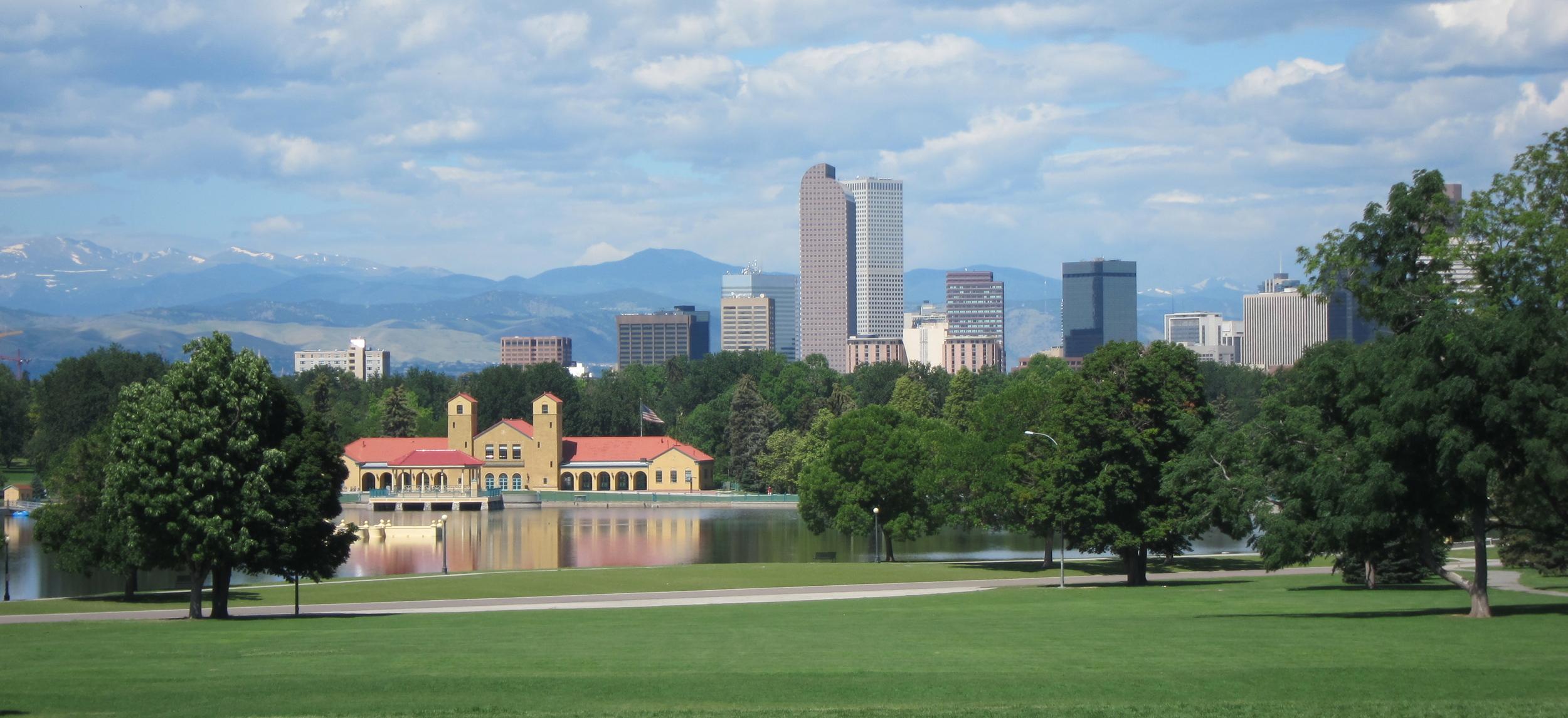 Denver's City Park, captured by my Love