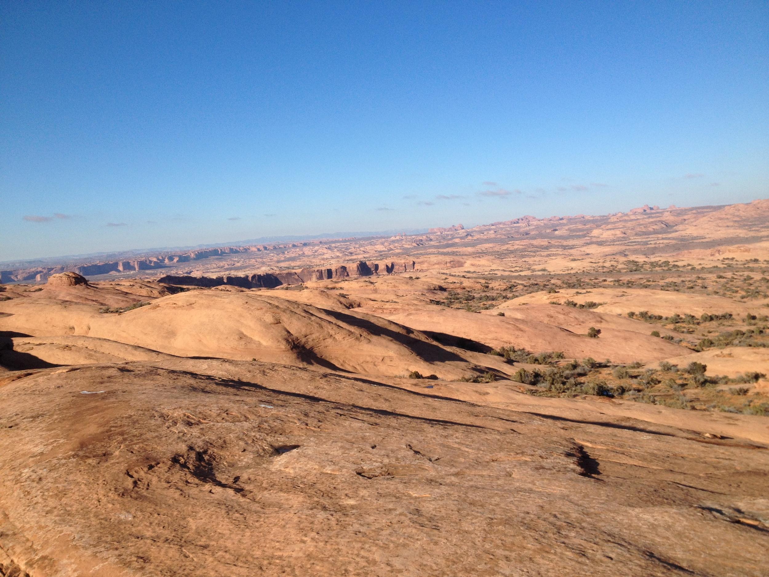 Photo credit: Tom Birks, Slickrock Trail, Moab, UT, 11/2013