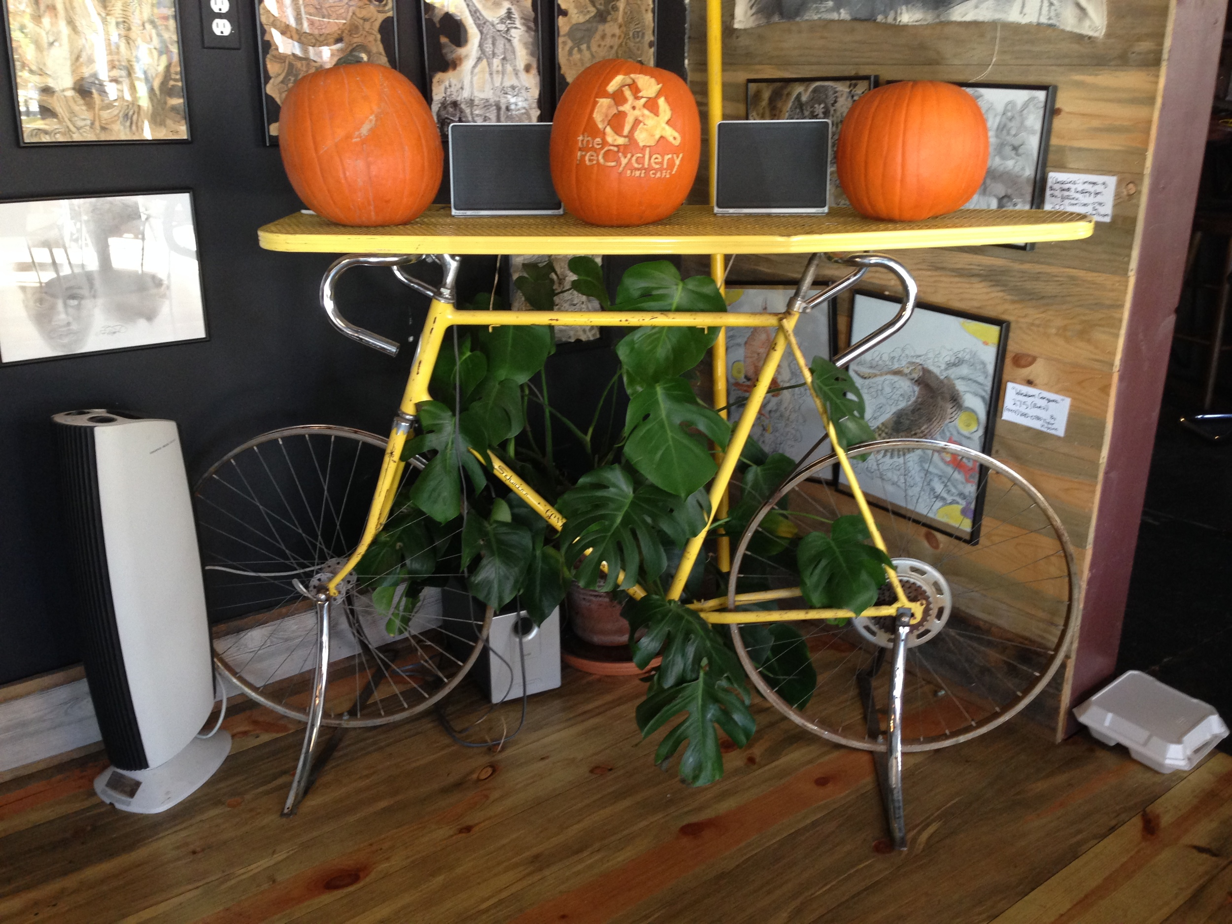 Seeing yellow bicycles  in my world around me reminds me just how NOT wrong I am.