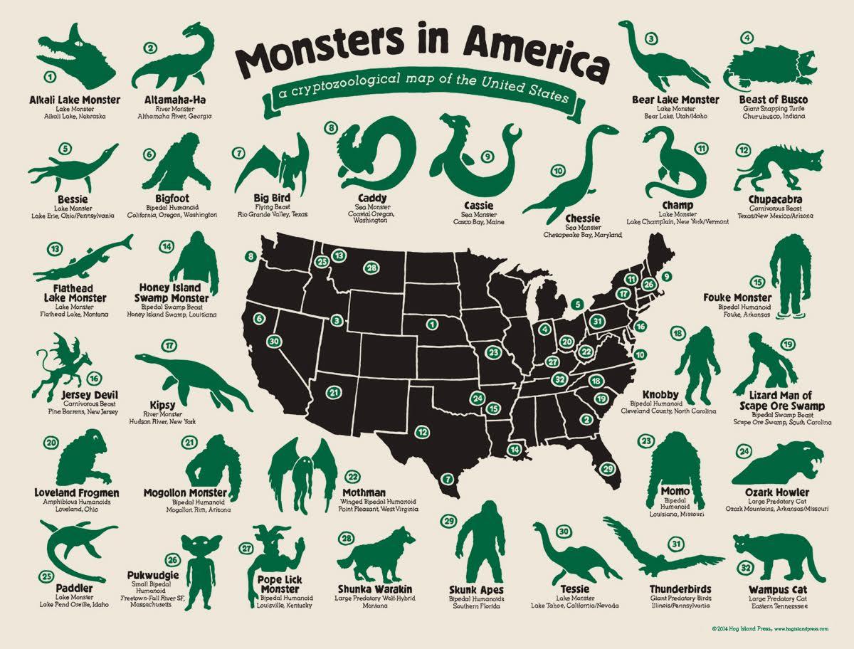 MonstersinAmerica