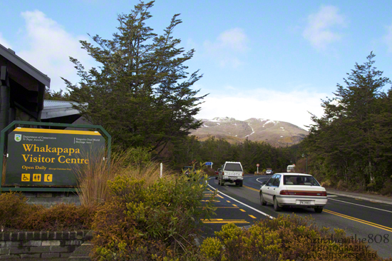 Whakapapa Visitor Centre sits alongside Highway 48, which continues up to the flanks of Mt. Ruapehu where the ski area known as Happy Valley welcomes snow sport enthusiasts. It's a premiere ski place perfectly suited for beginners.