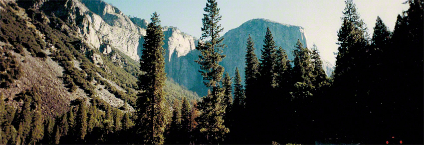 To think that my love for travel began with a picture of Yosemite on my folder. Not quite snow covered, but this is my first shot of Yosemite National Park. Digital cameras weren't even a talking point back then. This shot was taken from a plastic Fuji camera from the local drugstore that only shot panoramics.