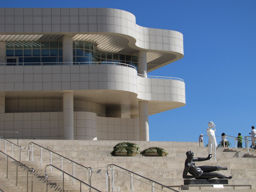 The incredible architecture of The Getty was just the beginning of a day's exploration