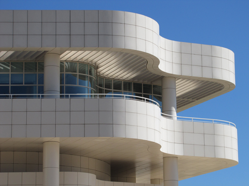Another shot of The Getty's beautiful architecture