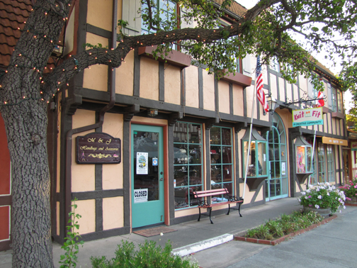 The Danish architecture of Solvang is prominent throughout the entire village—such a treat to stroll through