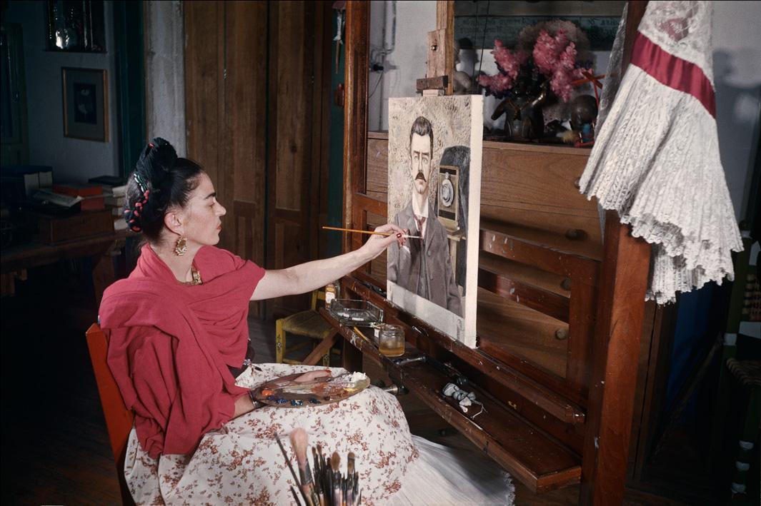 Frida Kahlo: The Gisèle Freund Photographs , published byAbrams