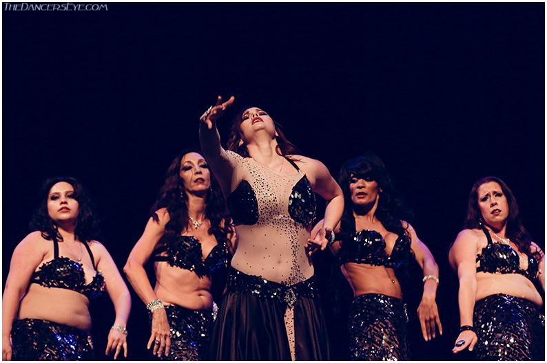 Velia, Natahsia, Amanda Rose, Maya & Melisula peforming Yearning