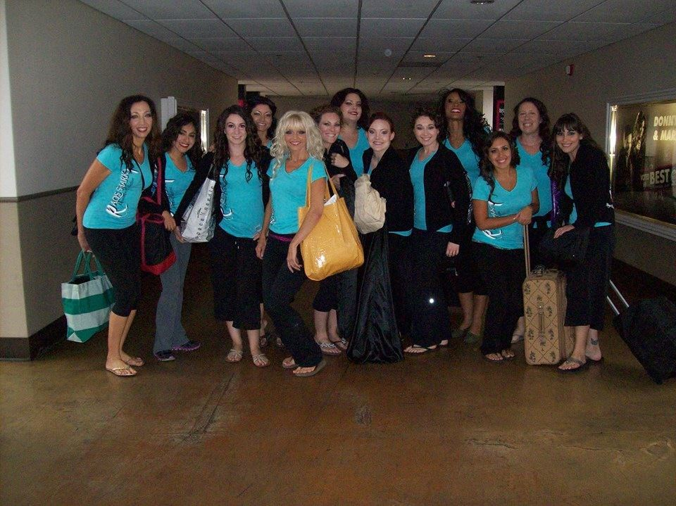 RSMC leaving for tech rehearsal at the Las Vegas Bellydance Intensive 2013