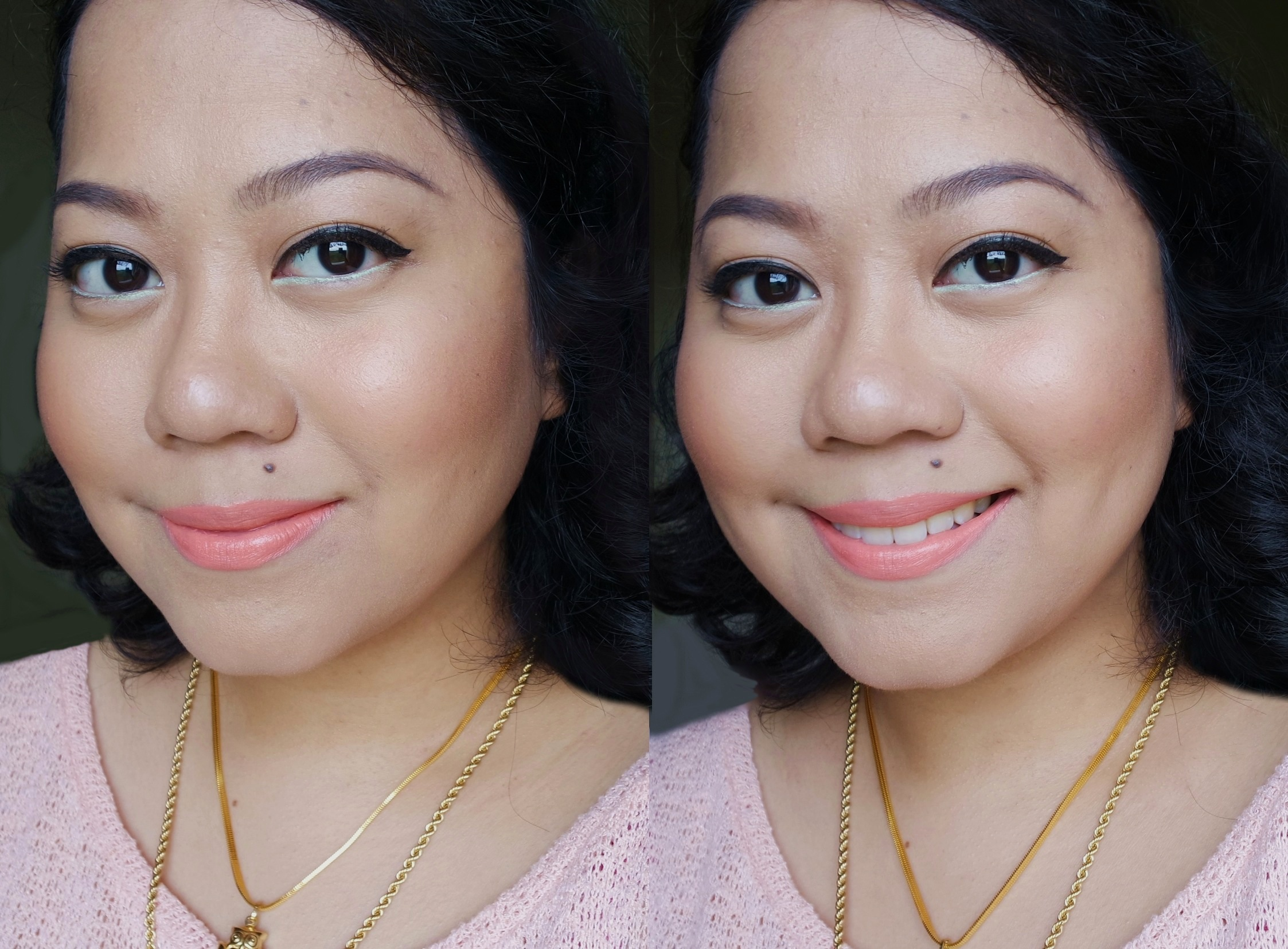 Wearing the ZZ Cream here under the Happy Skin Don't Get Mad Get Even Powder Foundation. I love this combo and have been on it this whole month! The finish is super smooth and quite flawless without being heavy.
