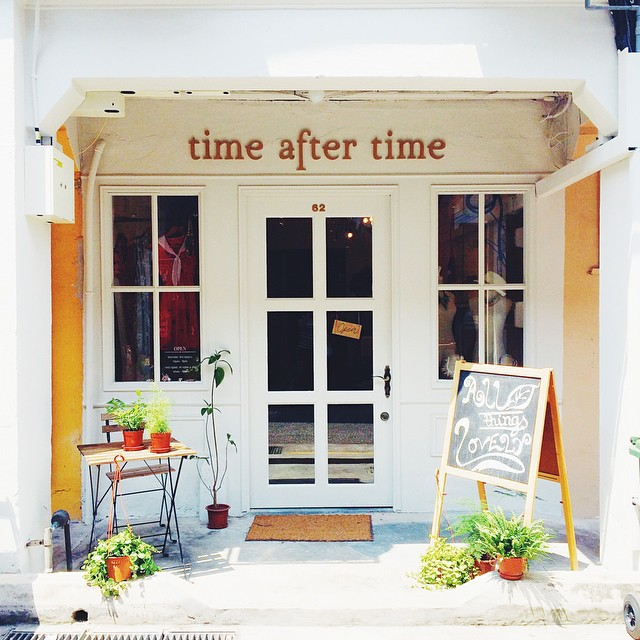 A quaint hippie store in Haji Lane, Singapore