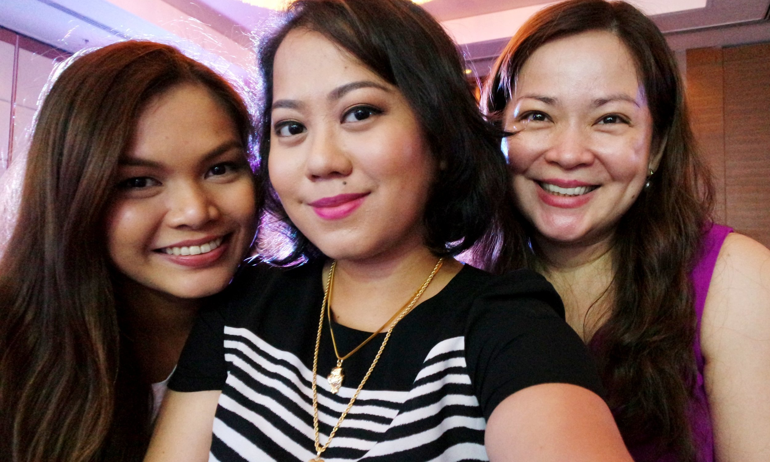 Martha, myself, and Raisa Mislang, who is an executive at  GlaxoSmithKline  (the makers of Physiogel). Raisa is always so chic and outspoken, I love her posts on Facebook and Instagram!