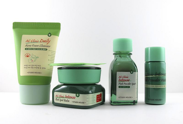 The Etude House AC Clinic is an affordable yet thorough line of zit-fighting products. Love the Red Spot Balm too!