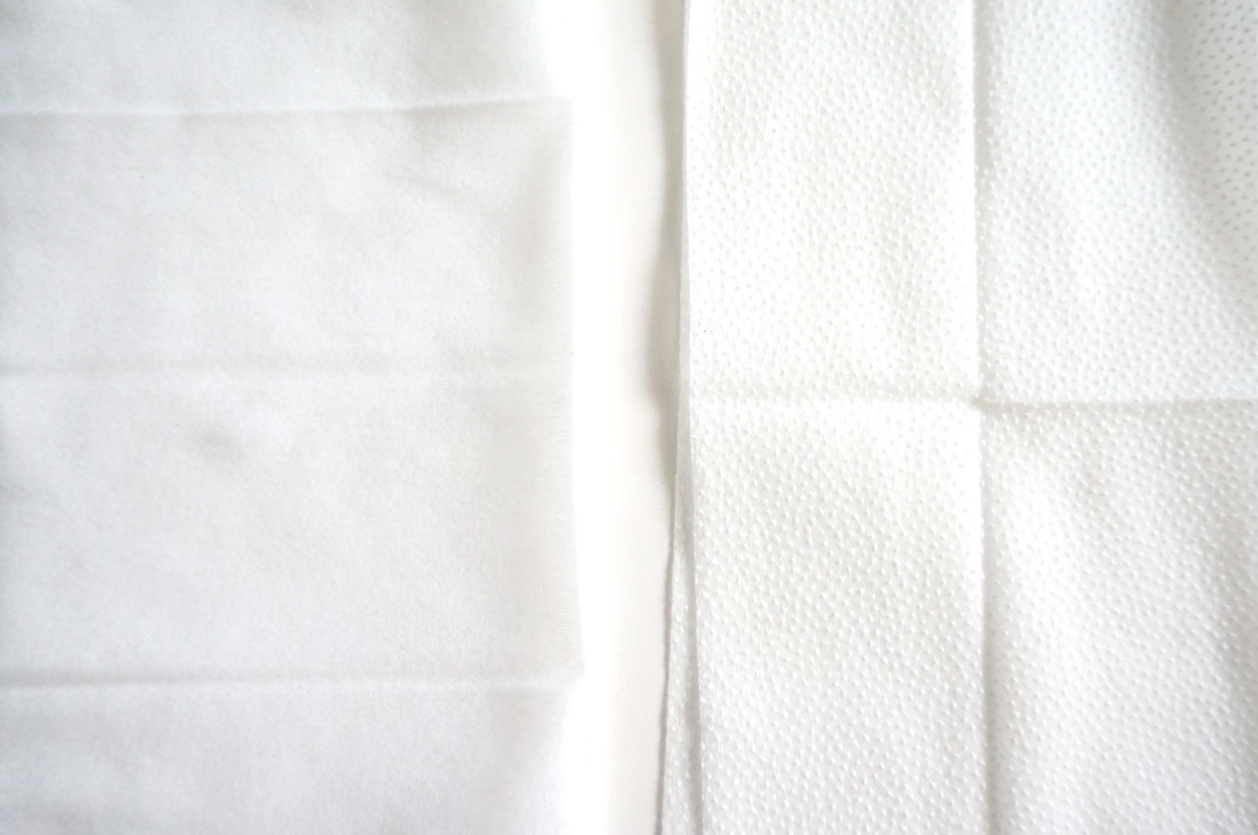 Gentle Facial Cleansing Wipes vs Exfoliating Wipes: My advice, get both, and use them as needed.