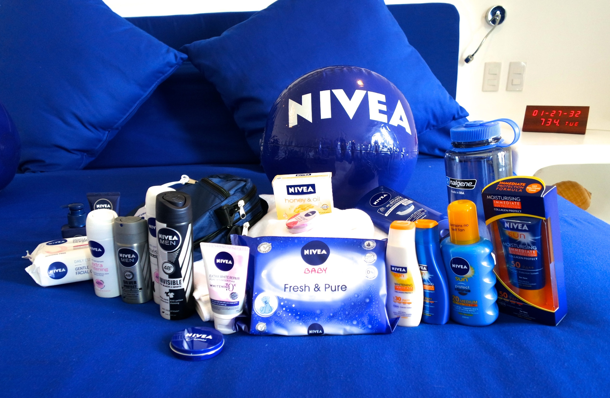 Of course, Nivea has got us covered for our skincare needs. Spot my faves!