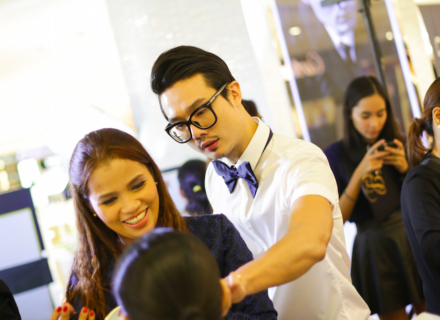 Bobby Wang in Manila last year