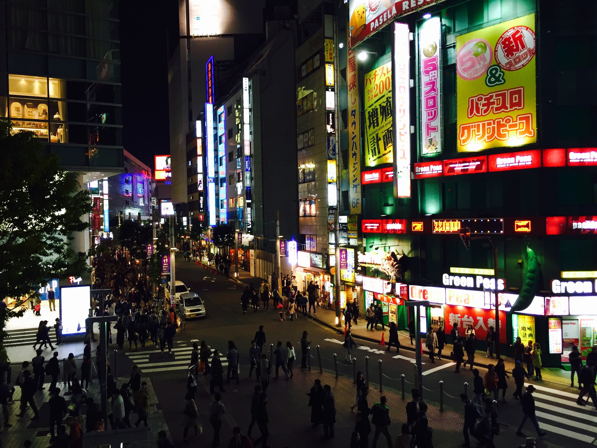 Shinjuku is as busy as busy in Tokyo gets. There are always so many people no matter the time of day.