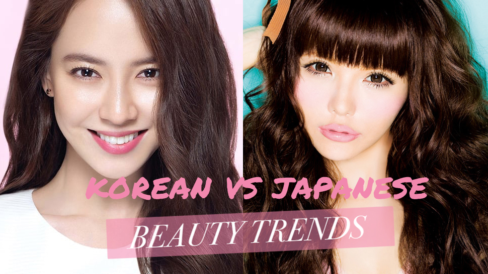Korean vs Japanese beauty trends