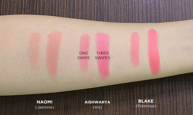 Swatches by BeautyMNL