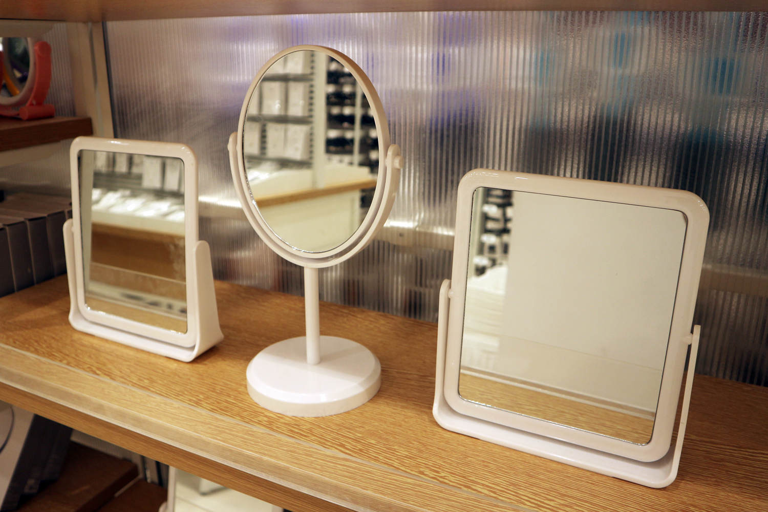 Desk mirrors are P99 to P149 each