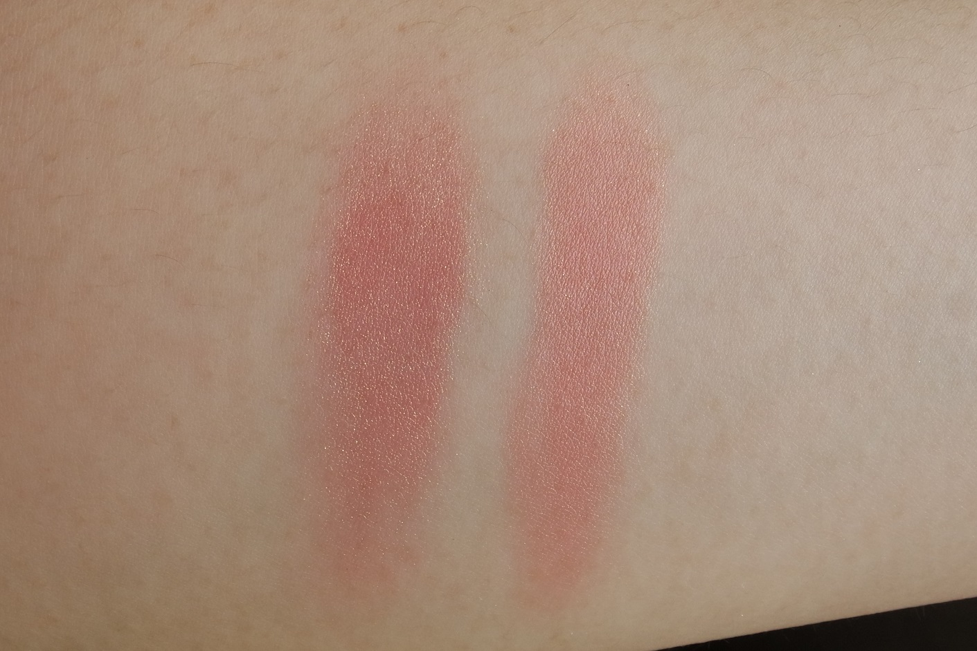 Left: Bourjois, Right: NARS