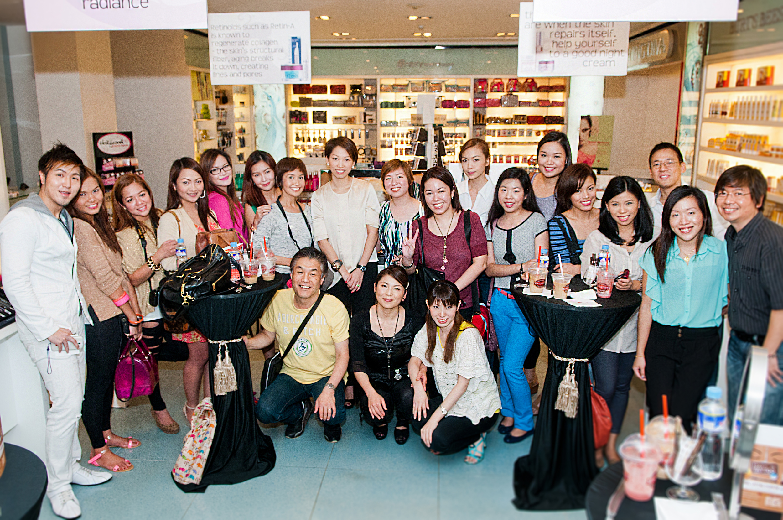 Beauty Box Corp.'s first event