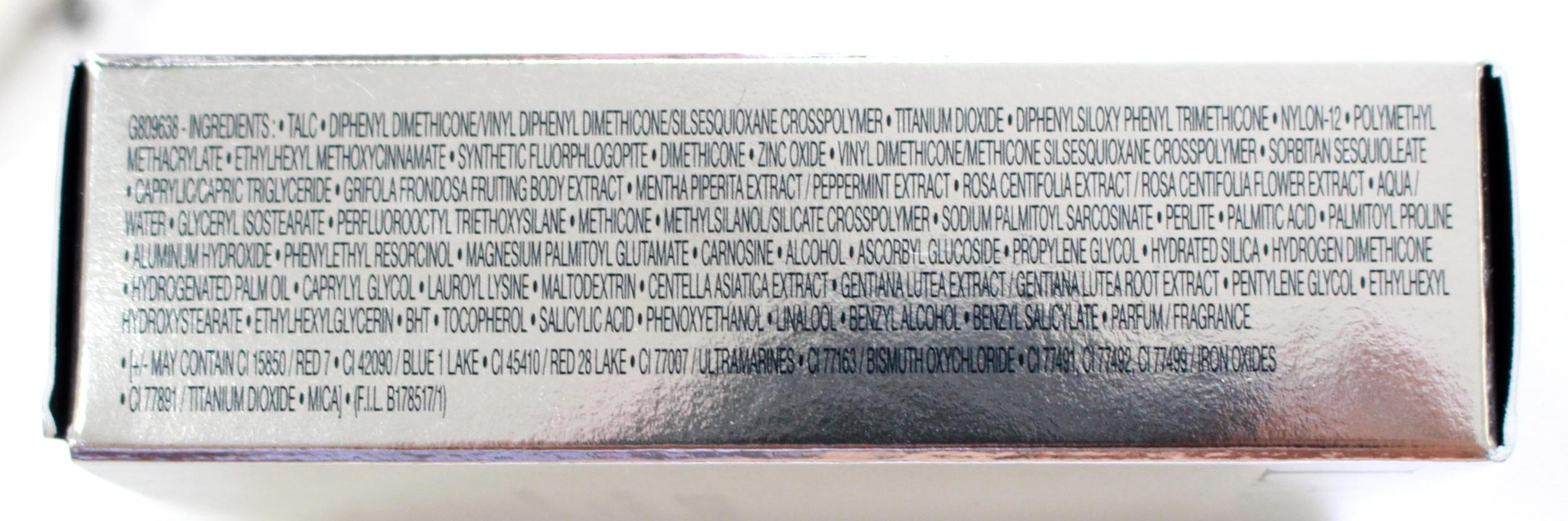 Lancôme Blanc Expert Foundation ingredients
