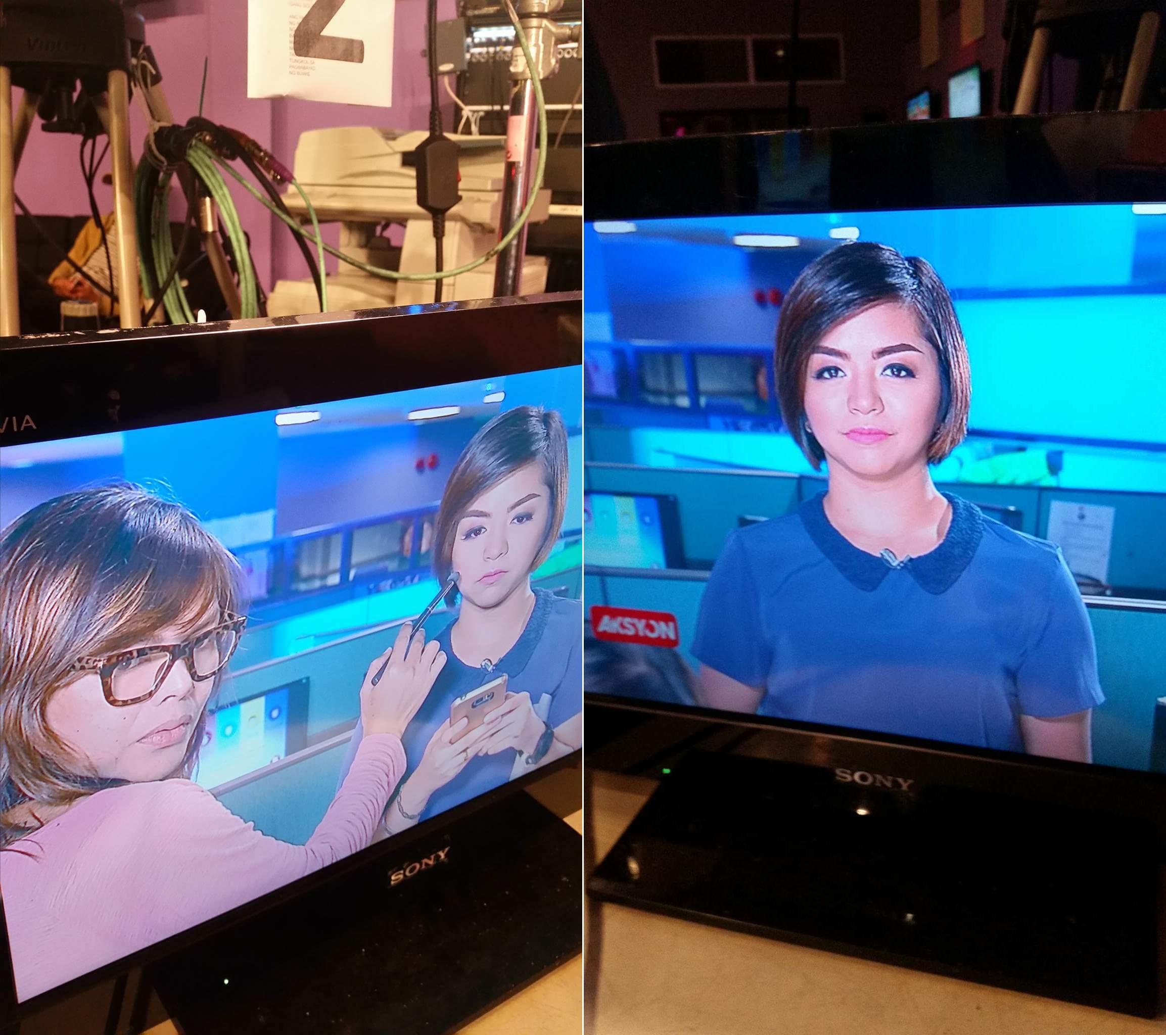 Broadcast Beauty A Tv News Reporter S