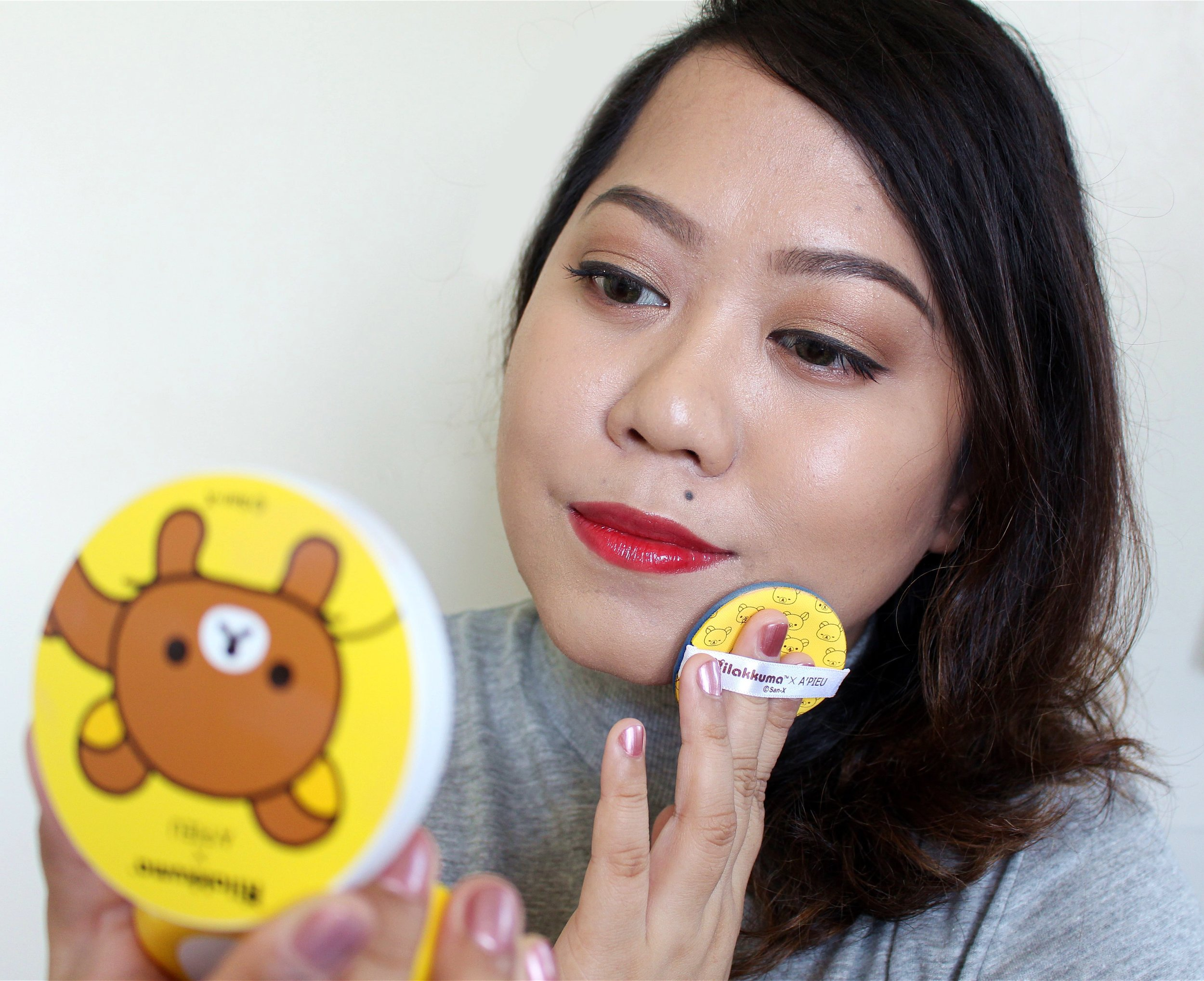 It's shallow but I feel kilig whenever I use the products. They're just too cute!