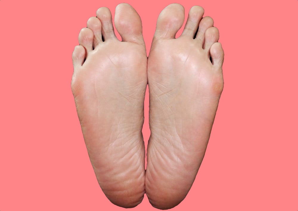 Ta-dah! Smooth feet in one use.