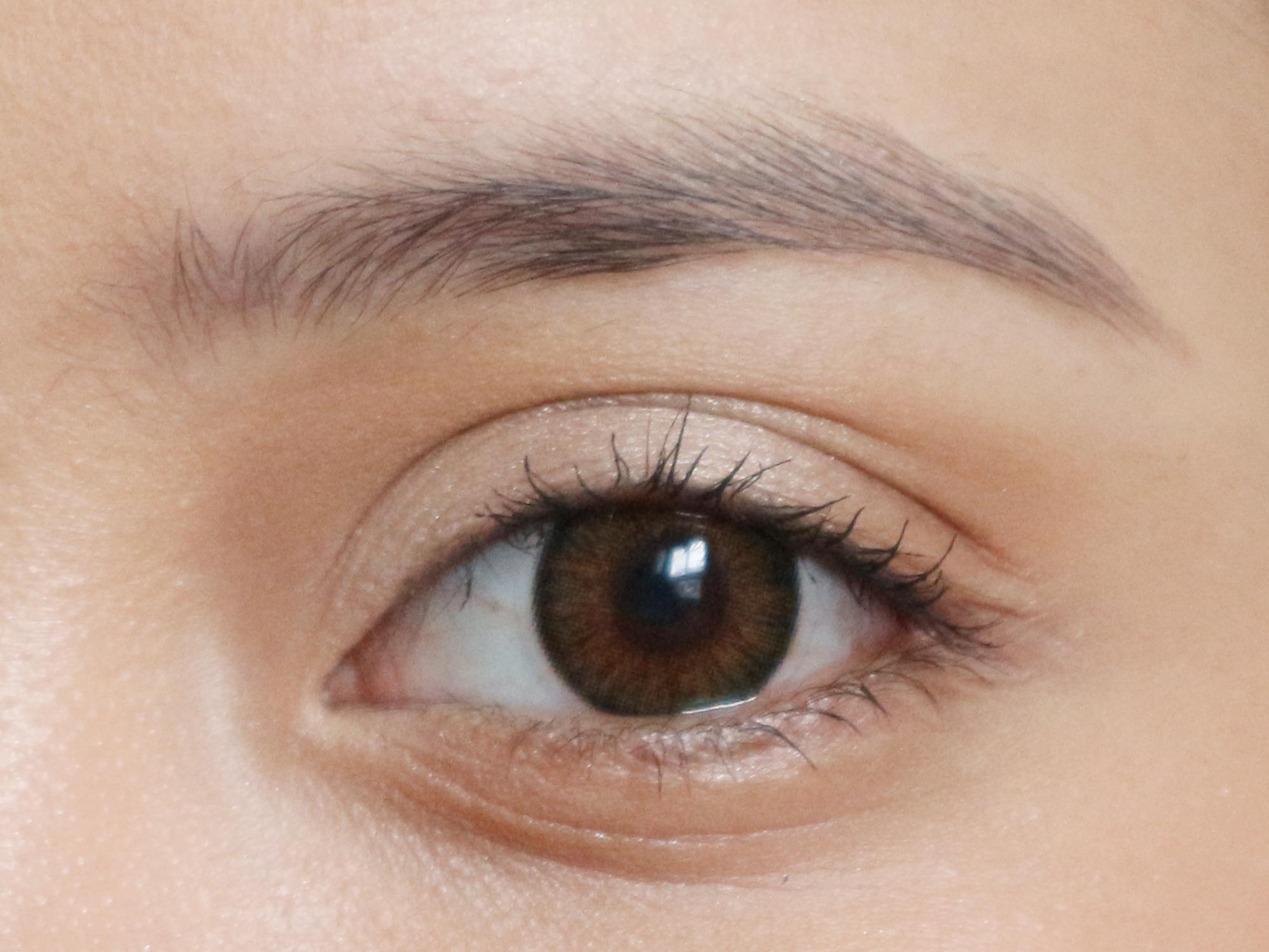 Bare brows