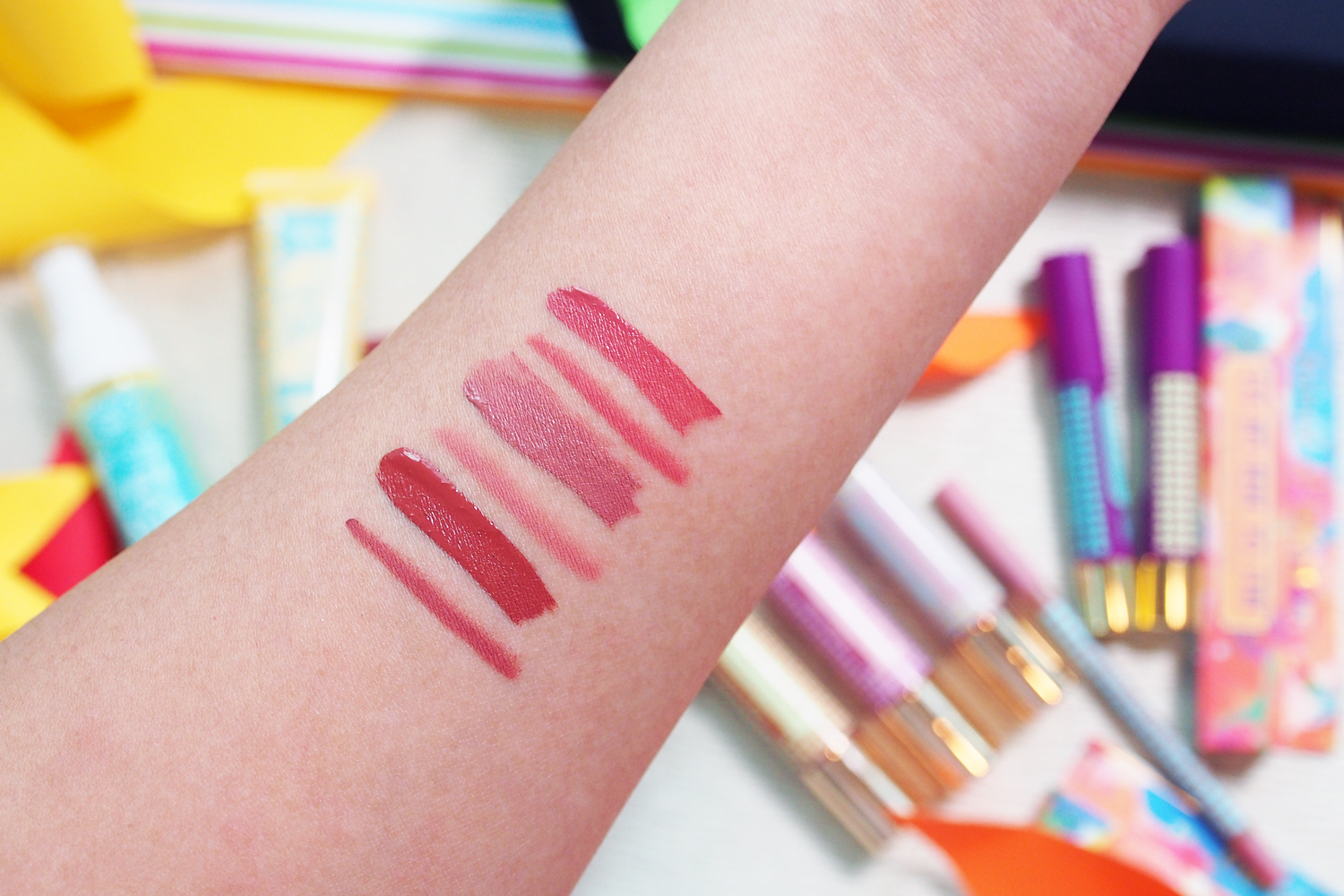 Left to right: Dance All Day, The Morning After, and Honeymoon Glow