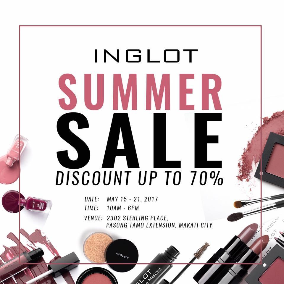 Image via Inglot Cosmetics