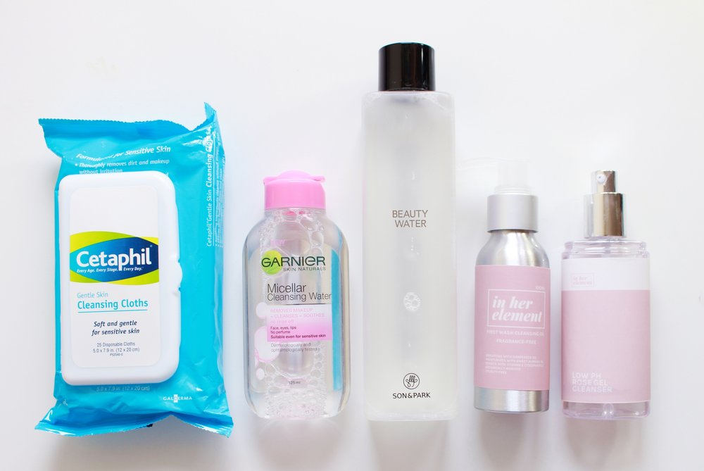 How To Use Cleanser Remove Makeup