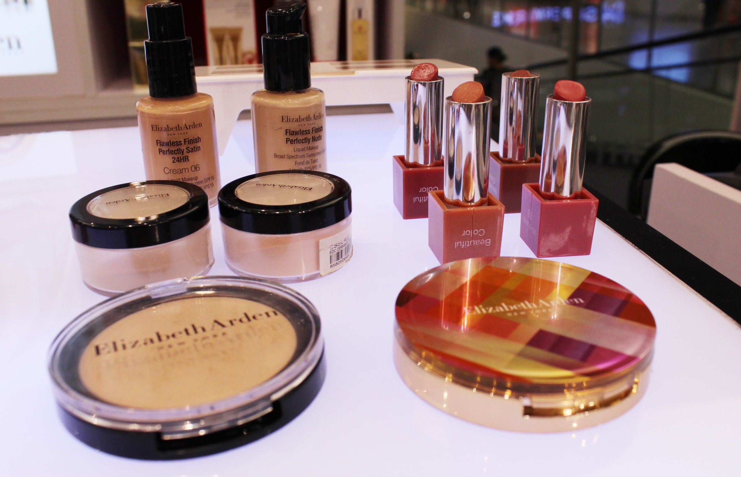 Elizabeth Arden's beauty-enhancing shades
