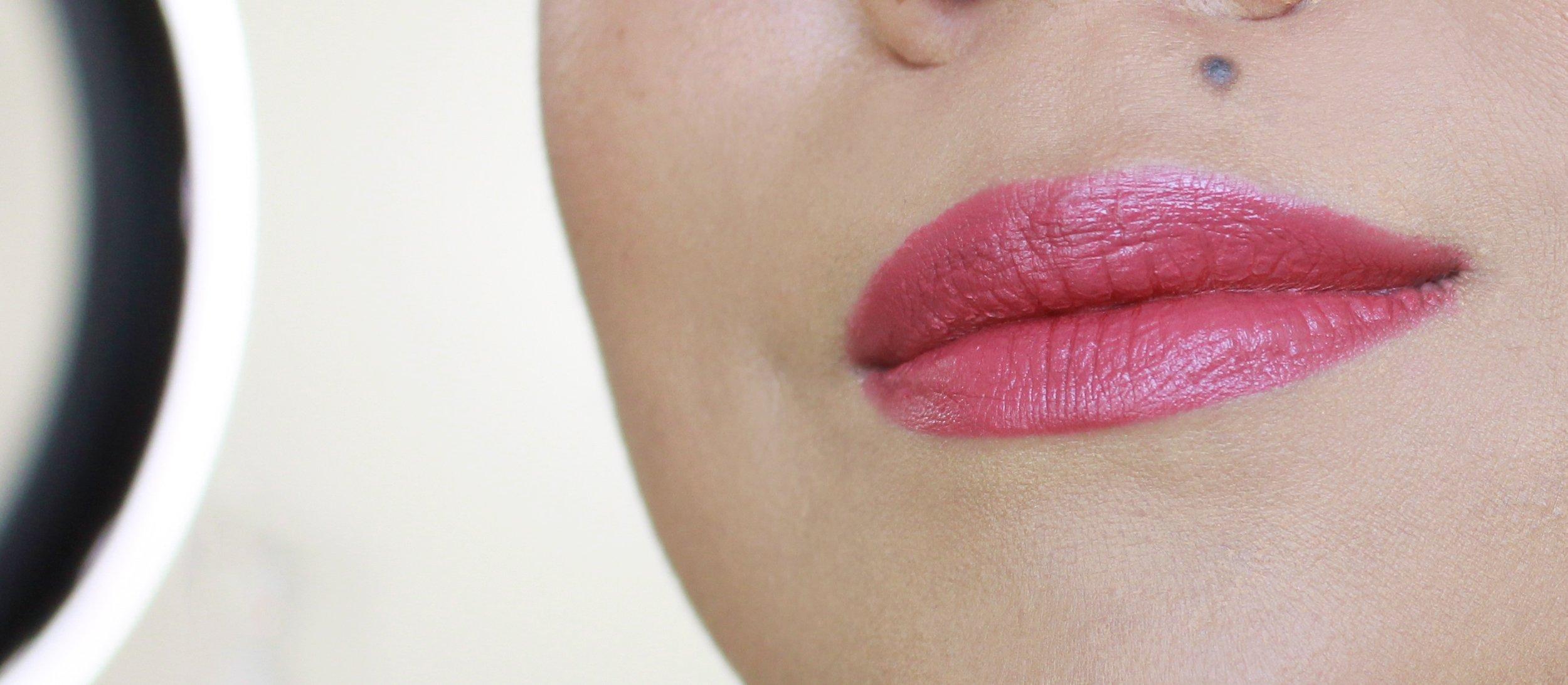 Marc Jacobs Le Marc Lip Creme in Kiss Kiss Bang Bang