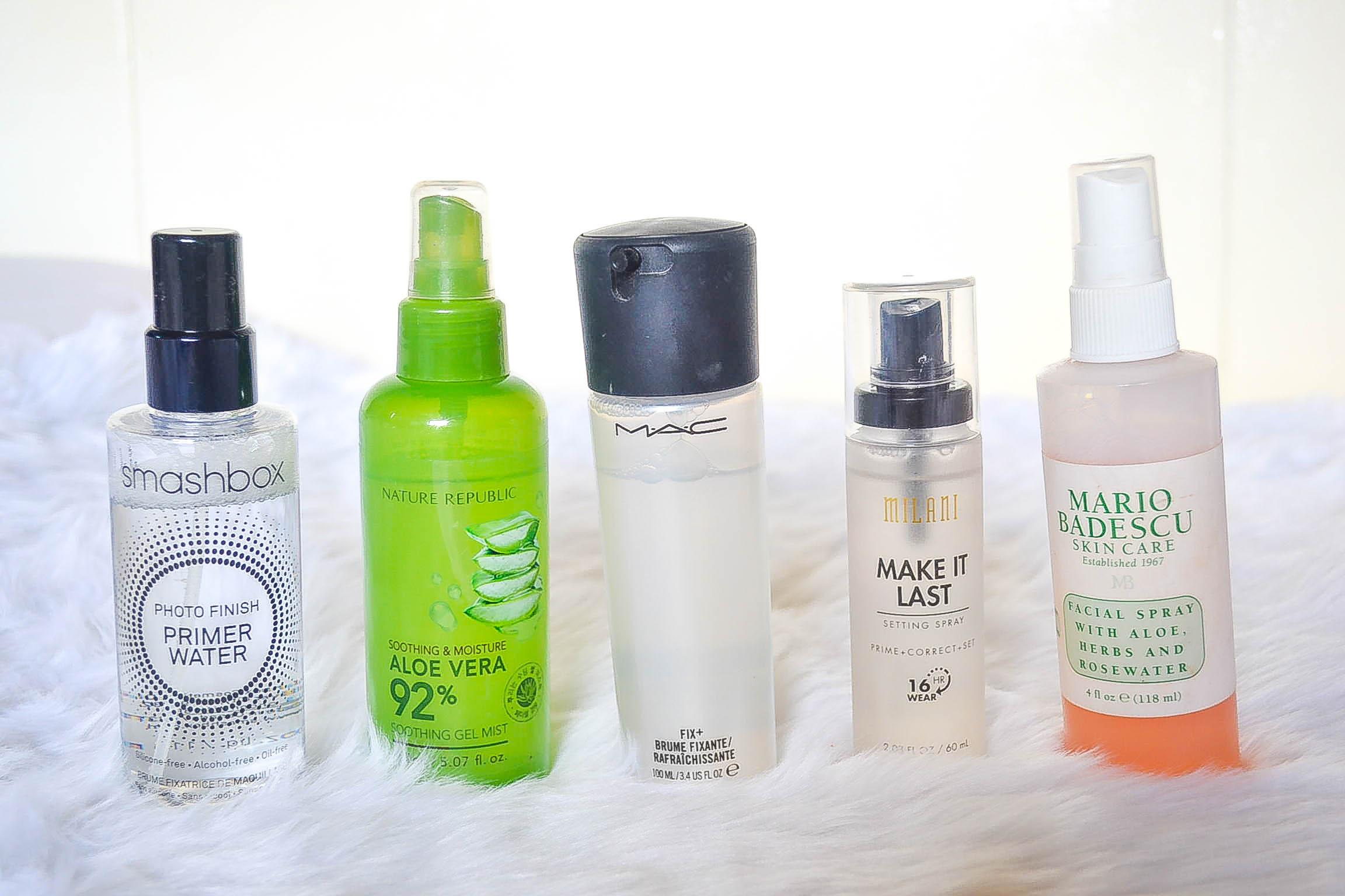 Five Genius Ways To Use Your Facial Sprays With Makeup