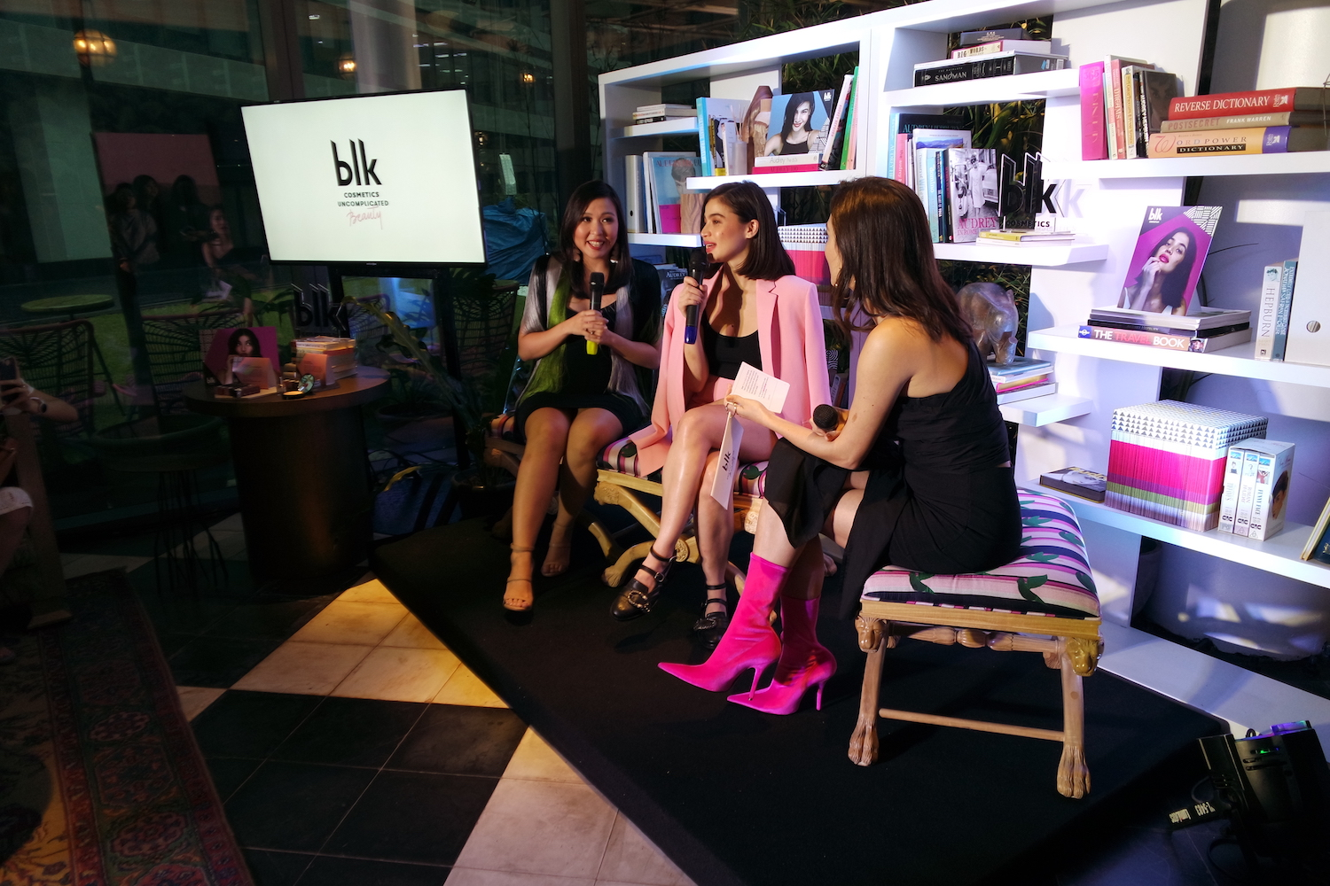 Jacque Yuengtian-Gutierrez and Anne Curtis tell Nicole Andersson the story behind blk cosmetics