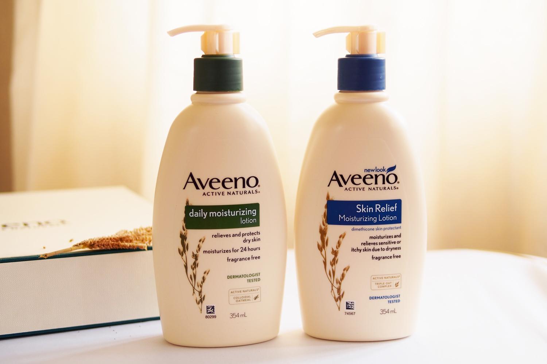Aveeno Active Naturals Daily Moisturizing Lotion (P649.75/354ml), Aveeno Active Naturals Skin Relief Moisturizing Lotion (P812.25/354ml)