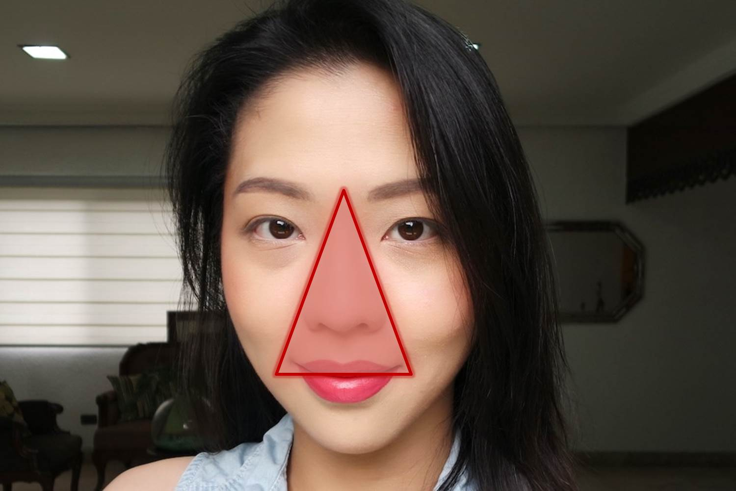 The Triangle Of Death Can Popping Pimples Actually Kill You
