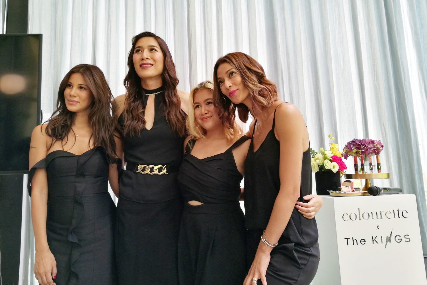 From left: Tricia Centenera, Angie Mead King, Nina Dizon, Joey Mead King