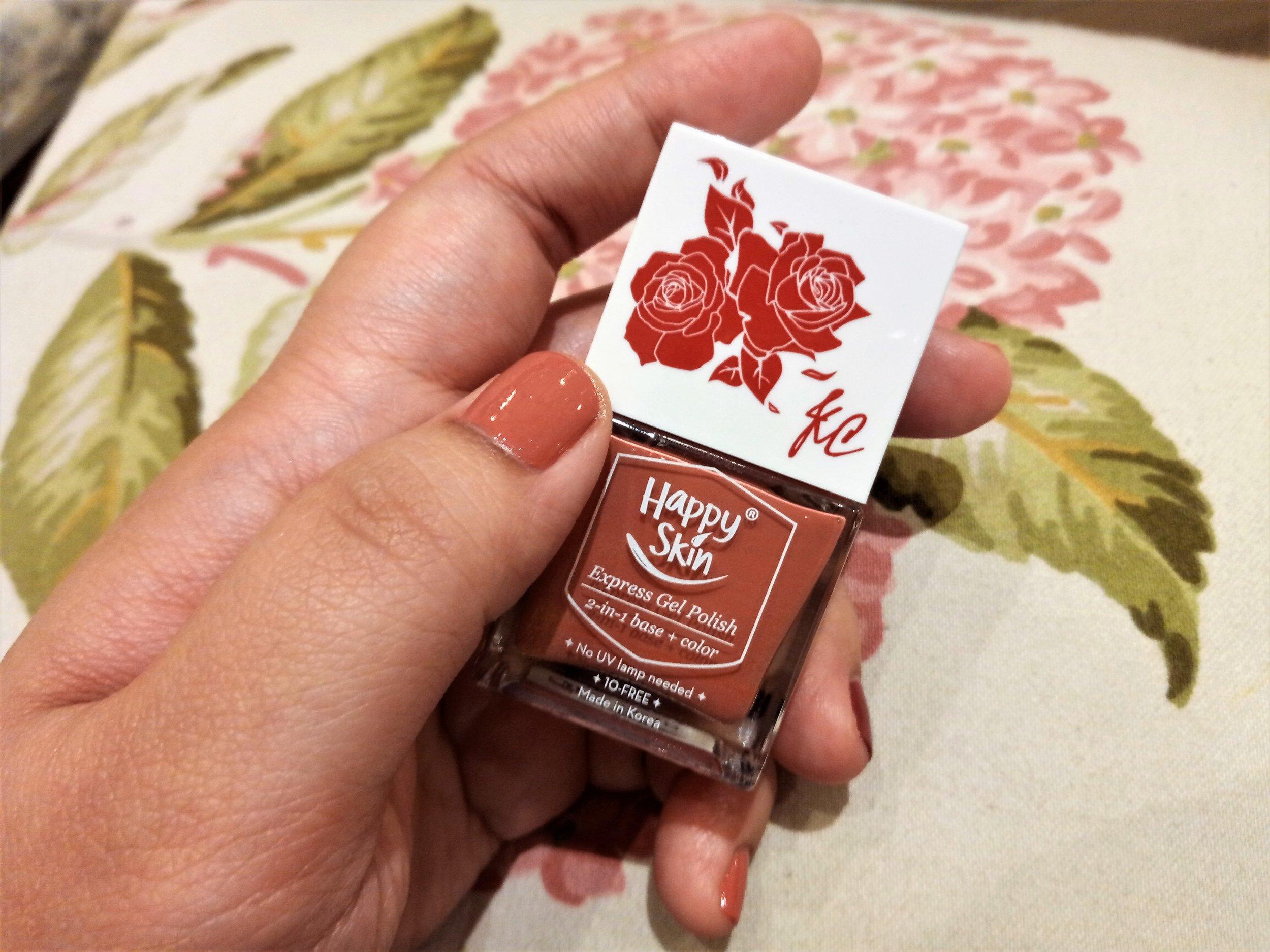 #HappySkinxKC Express Gel Polish in Beauty