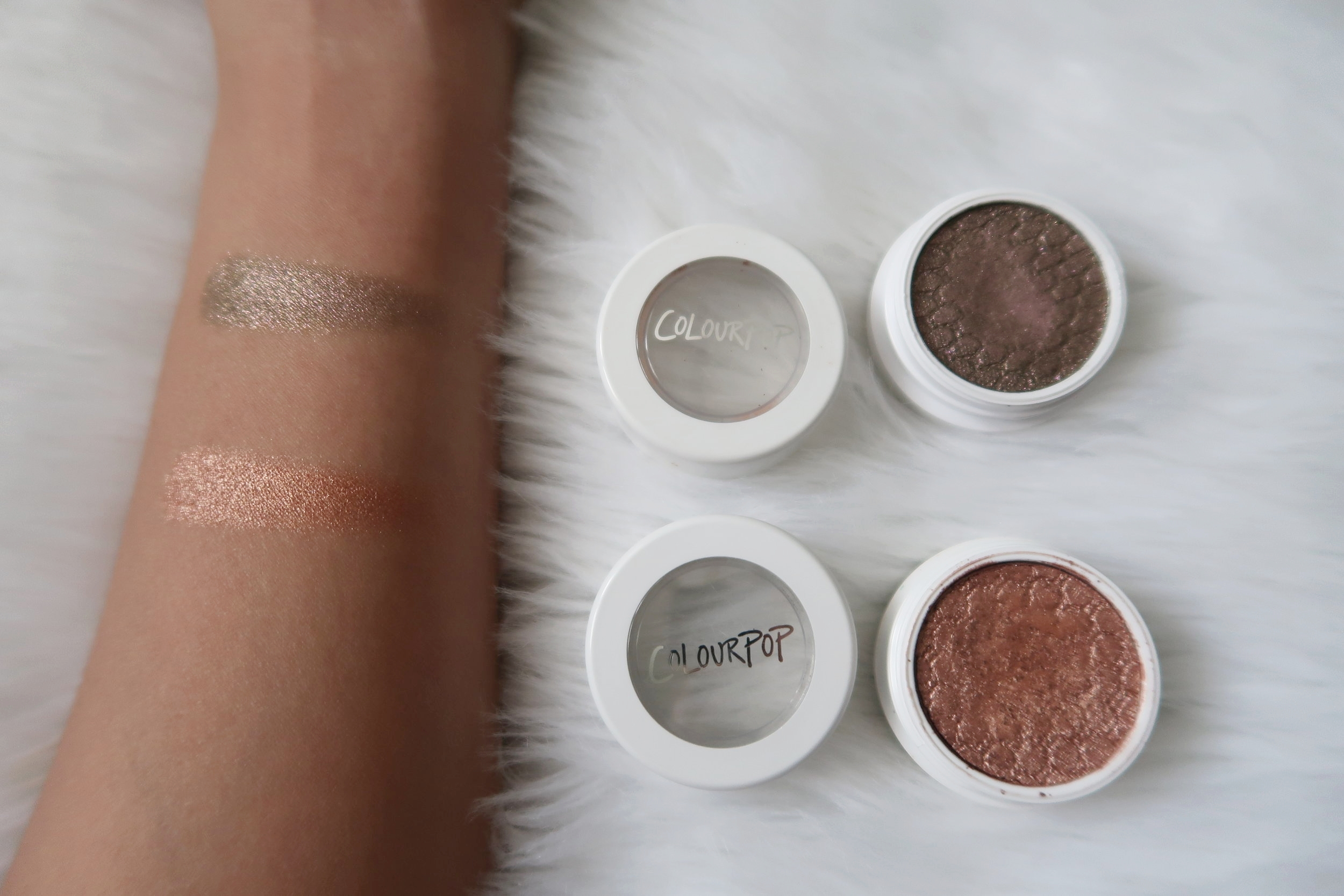 Swatches, from top: So Quiche & Lala