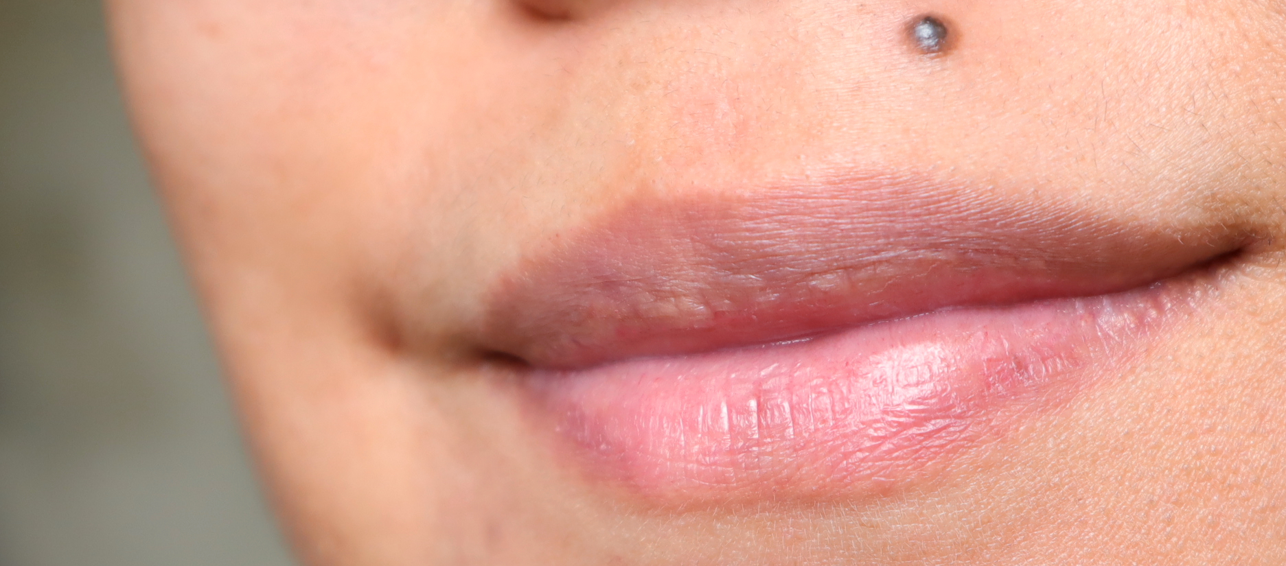 My bare lips, for your reference. I have pretty thin lips, as they go.